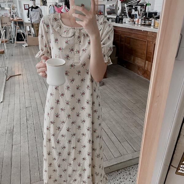 realcoco-♥NEW10%할인♥로베누 파자마 롱원피스(잠옷/홈웨어)♡韓國女裝連身裙
