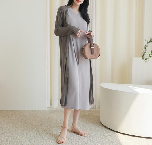 soim-[임부복*썸머쿨 롱가디건]♡韓國孕婦裝外套