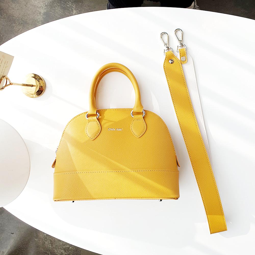 DIBLANC-[DIBLANC] [限時優惠]로제실버 토드 크로스백 rosé silver - 디아이블랑♡韓國女裝袋