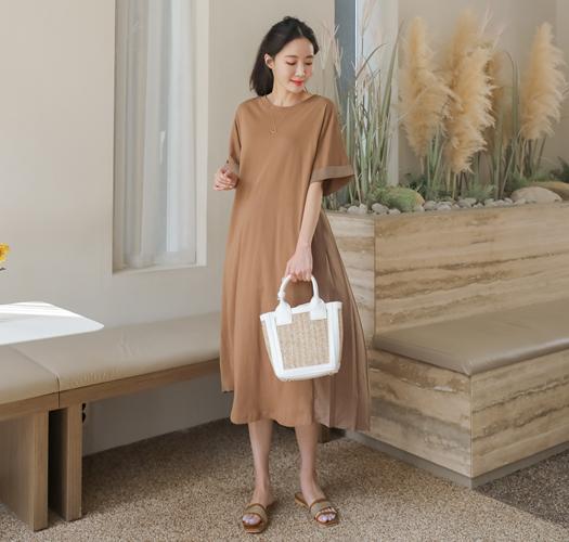 soim-[임부복*백플리츠 임산부원피스]♡韓國孕婦裝連身裙
