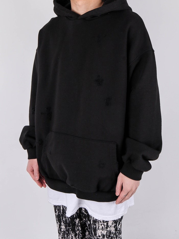 justyoung-DV Crack Hood (3color)♡韓國男裝上衣