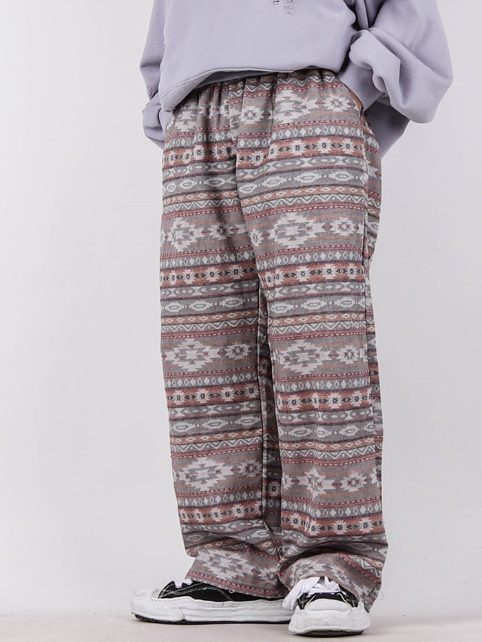 justyoung-GE Camping Indian Pants (2color)♡韓國男裝褲子