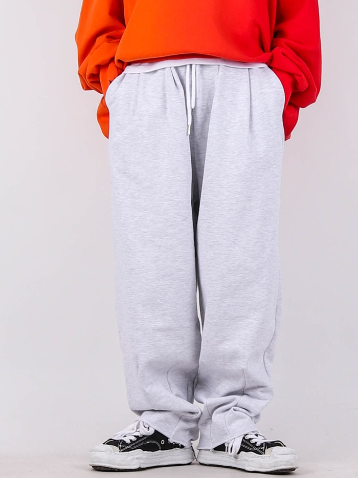 justyoung-NT Dart Wide Pants (2color)♡韓國男裝褲子
