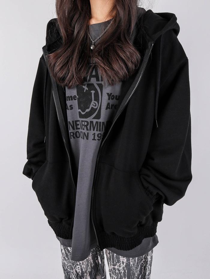justyoung-SG Dako Hood Zip-Up (2color)♡韓國男裝外套