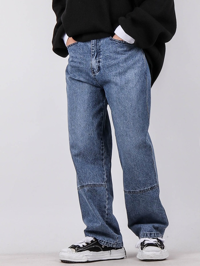 justyoung-NT L Pocket Cut Jeans♡韓國男裝褲子