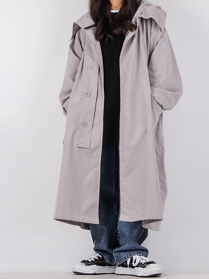 justyoung-PG Wind Long Coat (3color)♡韓國男裝外套