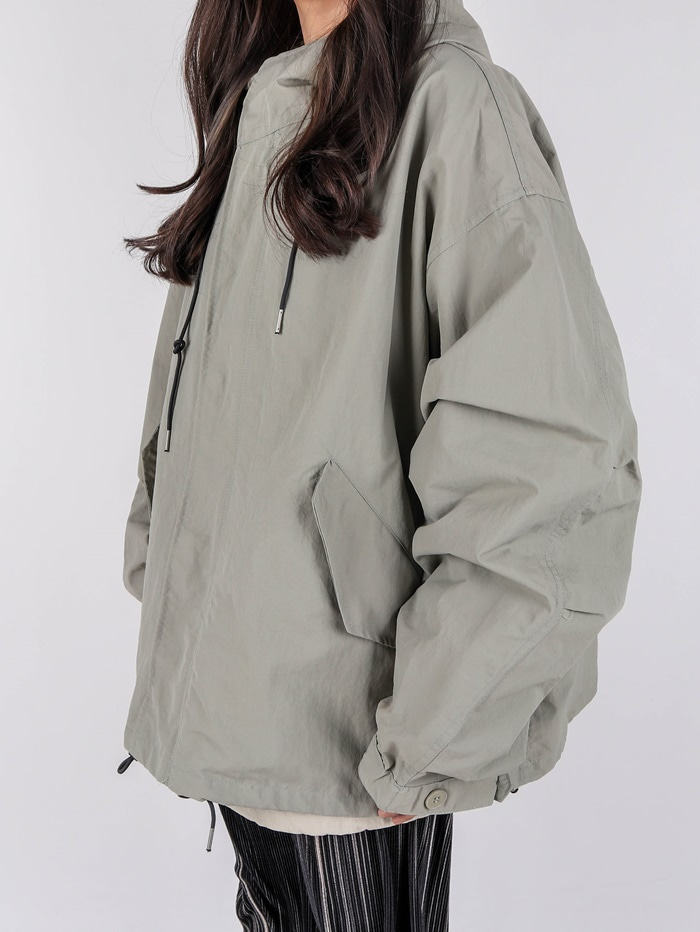 justyoung-AC Nylon Hood Jacket (2color)♡韓國男裝外套