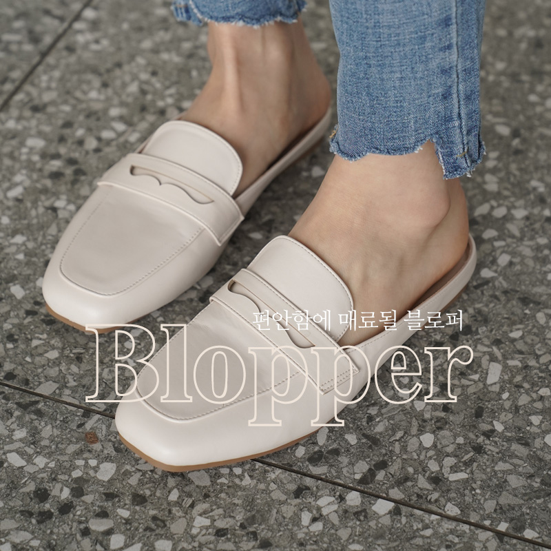 clicknfunny-[로펜 블로퍼]♡韓國女裝鞋