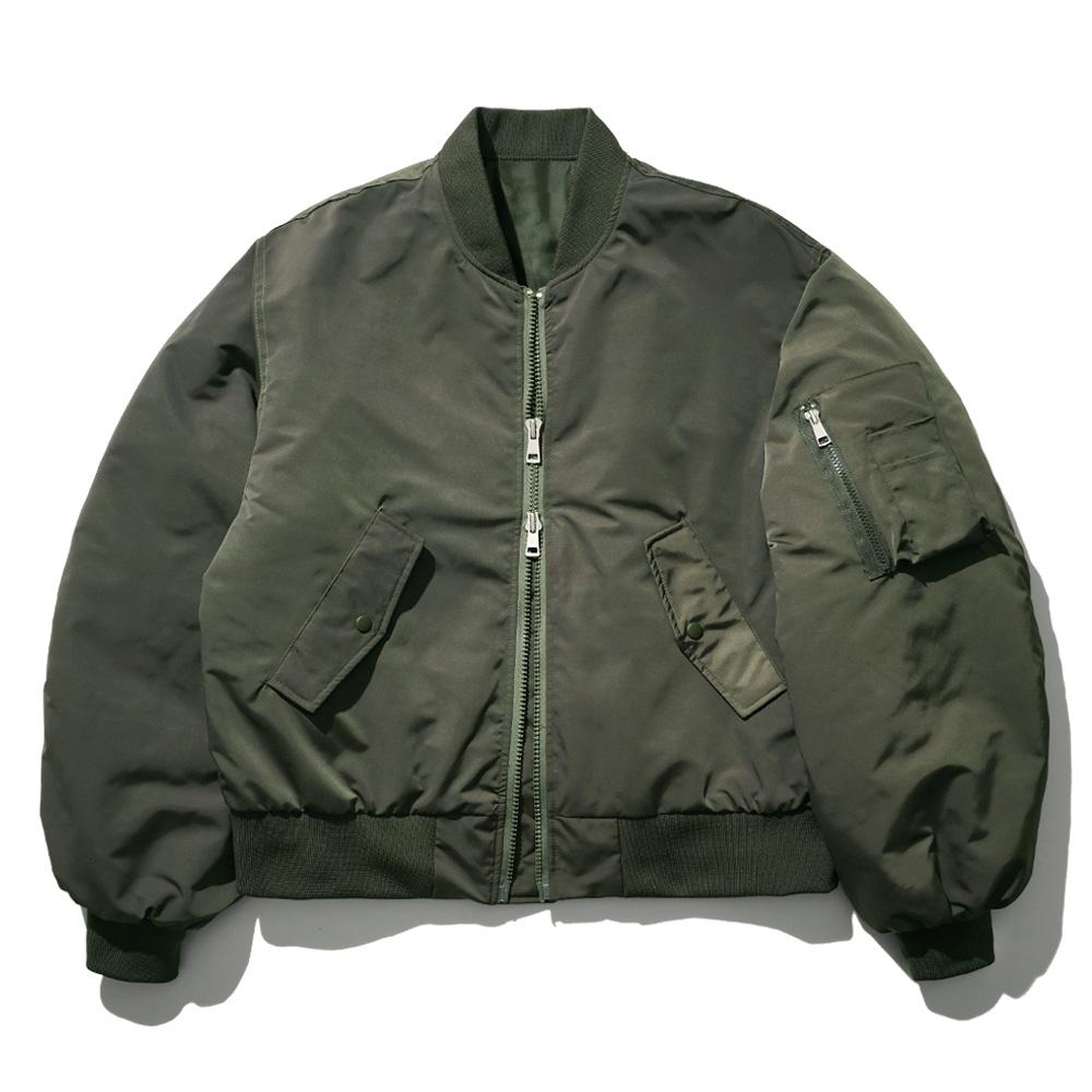fairplay142-[[3/12배송][퍼스텝] 스트라이크 MA-1 자켓 카키 JUOT4413]♡韓國男裝外套