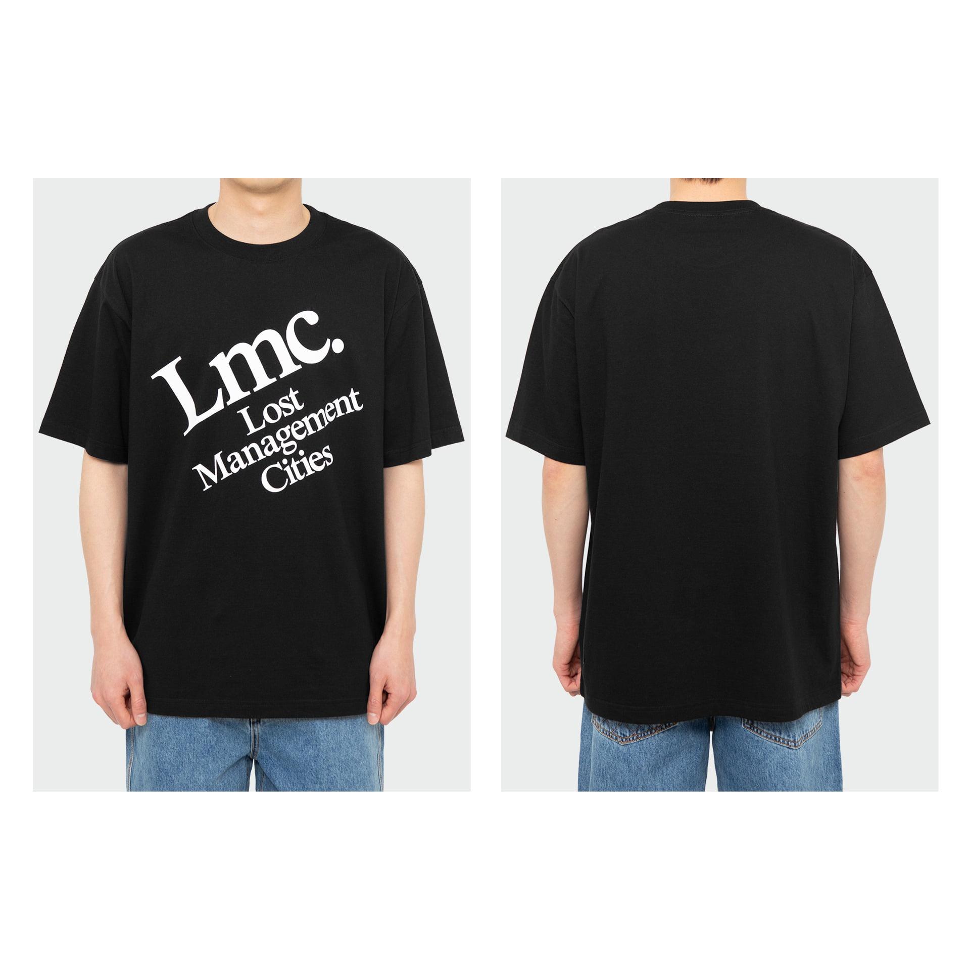 layer-LMC DIAGONAL TEE black♡韓國男裝上衣