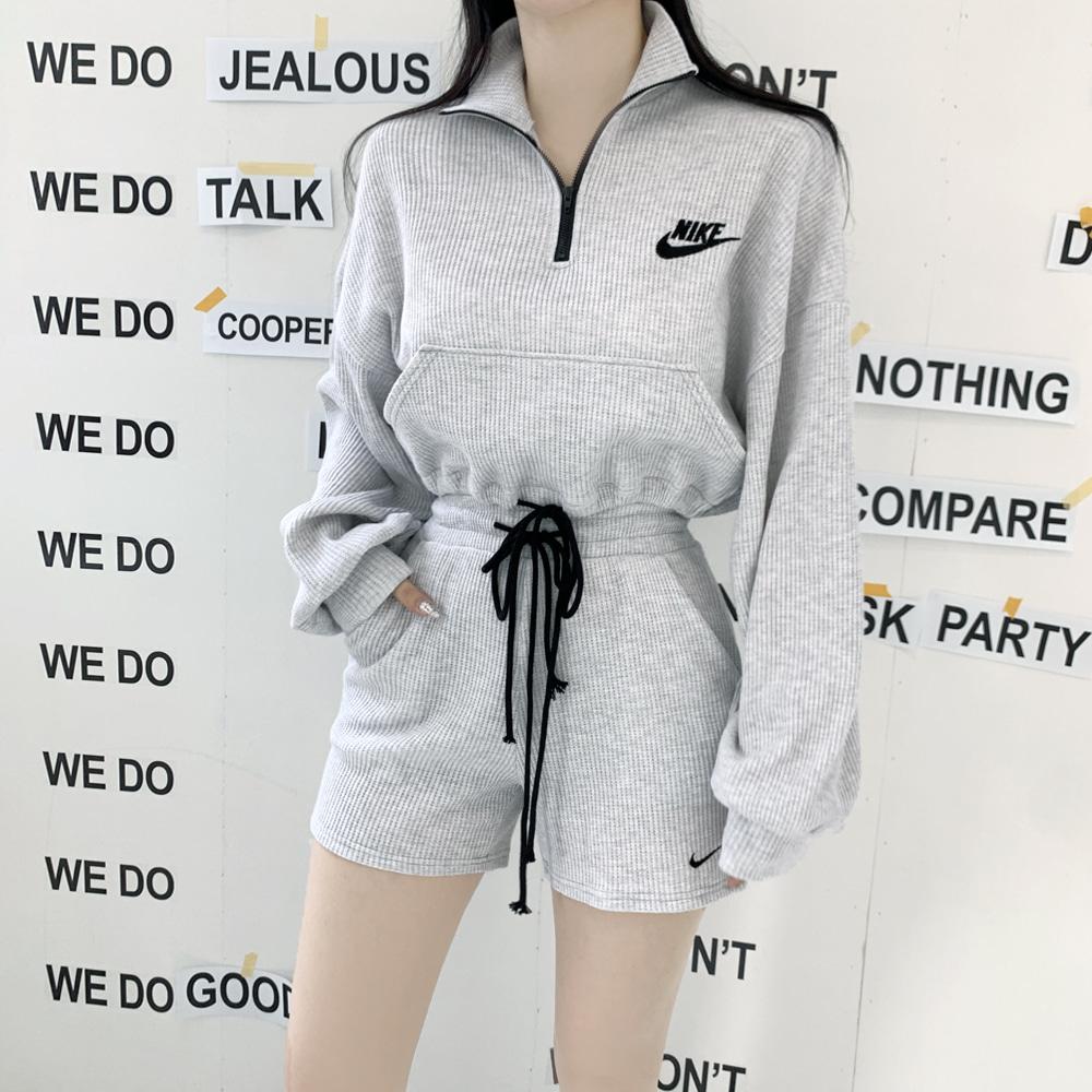 uinme-이키 집업 SET - [ 3color ] - 유인미이키 집업 SET - [ 3color ] - 유인미♡韓國女裝套裝