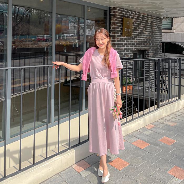 momnuri-임부복*슈템  원피스 ♡韓國孕婦裝連身裙