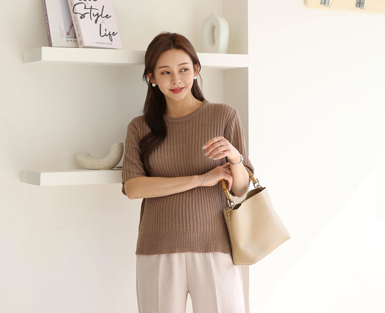 happy10-[*신상5% 기간한정할인*임부복*부클내추럴 니트]♡韓國孕婦裝上衣