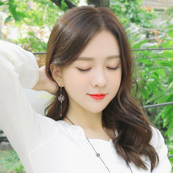 soo-soo-[귀걸이파반느 earring (17E532) [2color]]♡韓國女裝飾品