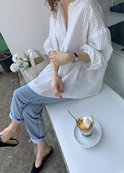 ifgirl-슈 블라우스 (2color)쥔장 언니 애정템~♡韓國女裝上衣