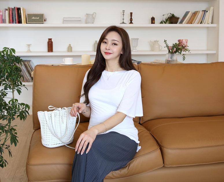 happy10-[*신상5% 기간한정할인*임부복*입술날개 티]♡韓國孕婦裝上衣