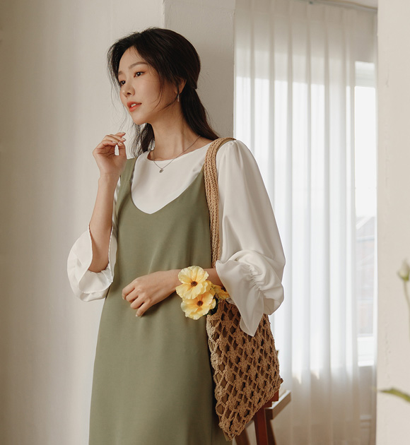 justone-♡韓國女裝上衣套裝
