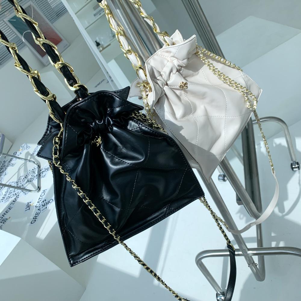 uinme-체이닝 버킷백 - [ 2color ] - 유인미체이닝 버킷백 - [ 2color ] - 유인미♡韓國女裝袋