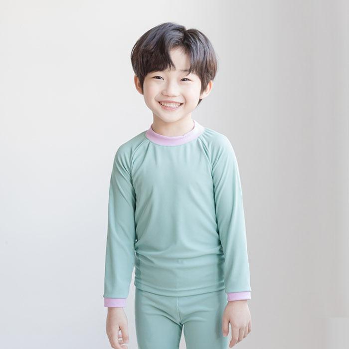 littlesmile-하프래쉬가드세트♡韓國童裝套裝