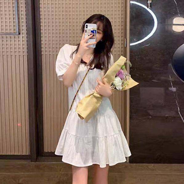 fashion-full-렌키미 레이스 원피스 & 이너 SET♡韓國女裝連身裙