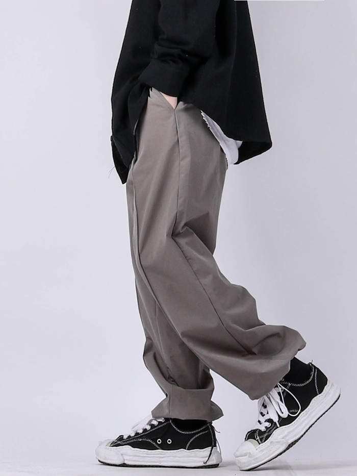 justyoung-NB Nylon String Pants (4color)♡韓國男裝褲子