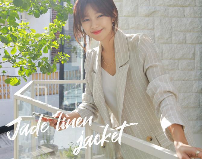 chichera-세련된 그녀들의 선택, 시크헤라[제이드리넨자켓]♡韓國女裝外套