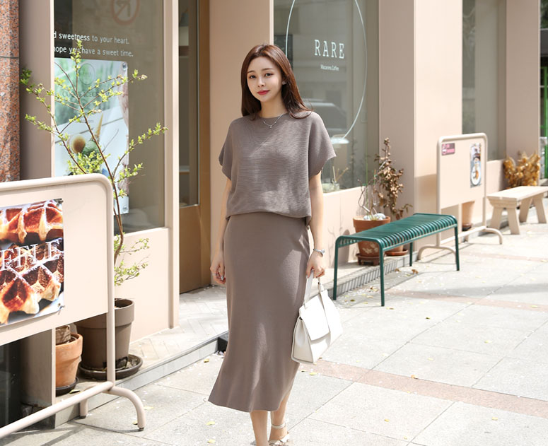 happy10-[*신상5% 기간한정할인*임부복*세련미니트 투피스]♡韓國孕婦裝上衣