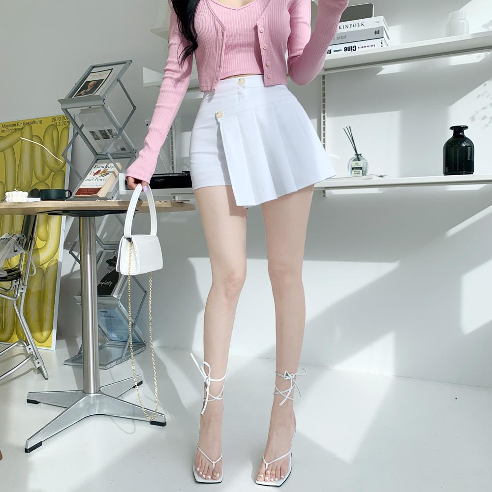 uinme-쫀쫀 스테어 스커트 팬츠 - [ 3color ] - 유인미쫀쫀 스테어 스커트 팬츠 - [ 3color ] - 유인미♡韓國女裝褲