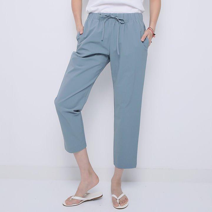 lemite-산뜻배기 스트링팬츠(특가팬츠,쿨소재)♡韓國女裝褲