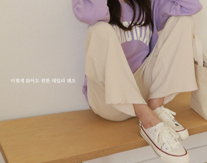 chichera-세련된 그녀들의 선택, 시크헤라[데일리이지밴딩팬츠]♡韓國女裝褲