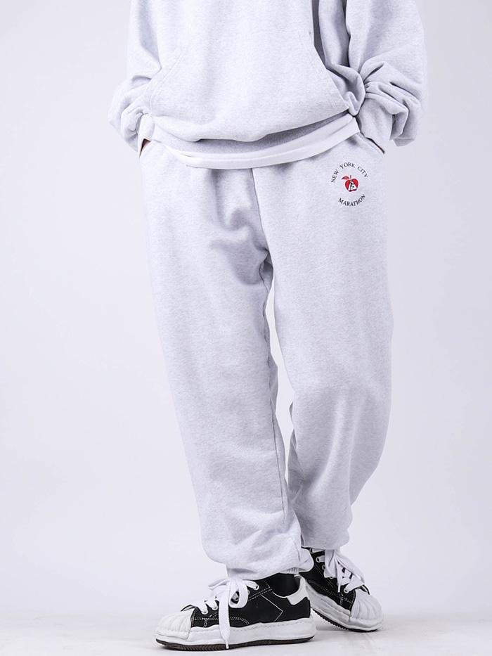 justyoung-LY Setup New York Marathon Pants♡韓國男裝褲子