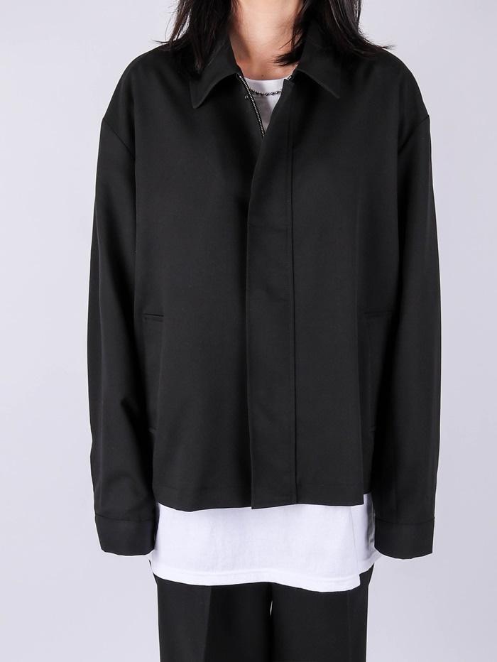 justyoung-AP Setup Journal Black Jacket♡韓國男裝外套