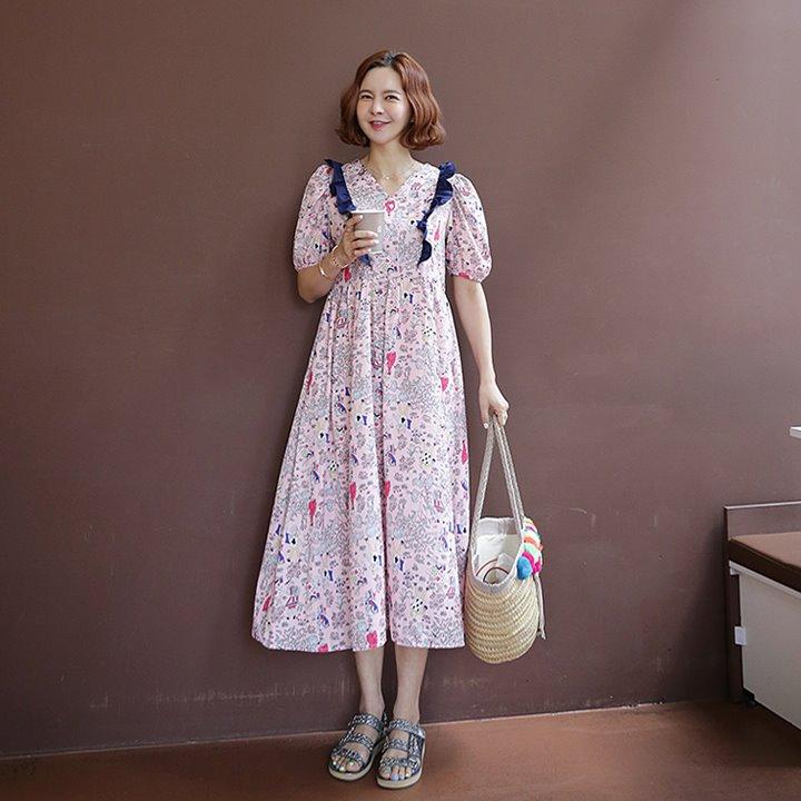 lemite-동화속 프릴원피스♡韓國女裝連身裙