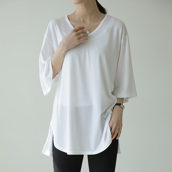 mariangplus-[P] 제메카 반팔 티셔츠 P_T9834♡韓國女裝上衣