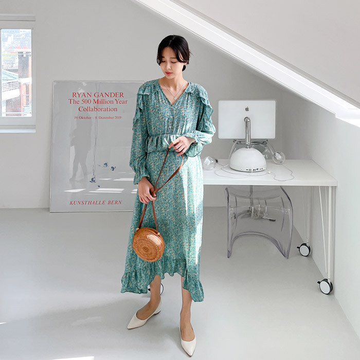 momnuri-임부복*넬리 원피스(수유원피스) ♡韓國孕婦裝連身裙