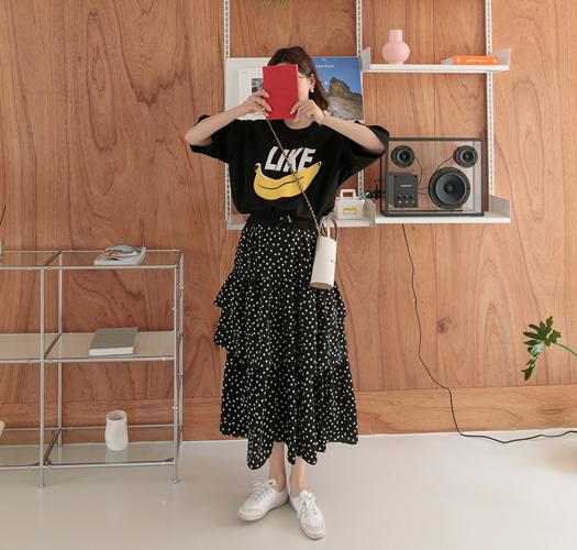 soim-[임부복*바나나콤비반팔 임산부원피스]♡韓國孕婦裝連身裙