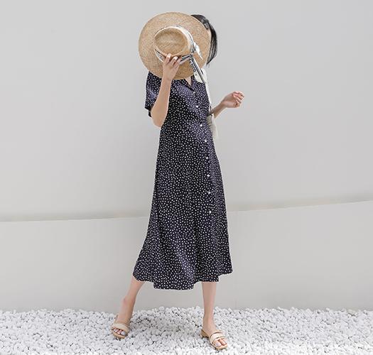 soim-[임부복*프렌치도트 임산부원피스]♡韓國孕婦裝連身裙