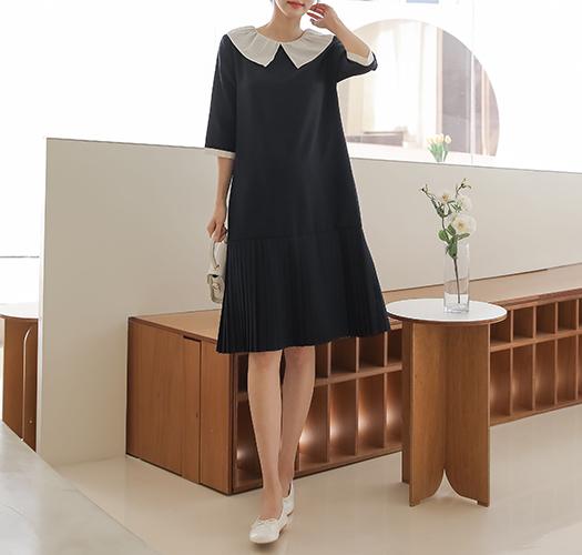 soim-[임부복*릴리플리츠 임산부원피스]♡韓國孕婦裝連身裙