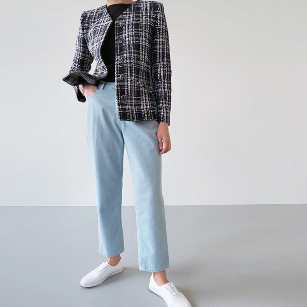 littleblack-앨리스 코튼 팬츠(S, M, L)♡韓國女裝褲
