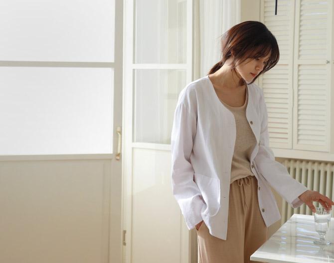 chichera-세련된 그녀들의 선택, 시크헤라[코지리넨자켓]♡韓國女裝外套