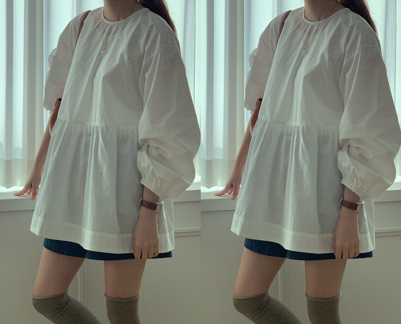 maybe-baby-[♥주말까지! NEW 5%할인♥] Avon (bl)♡韓國女裝上衣