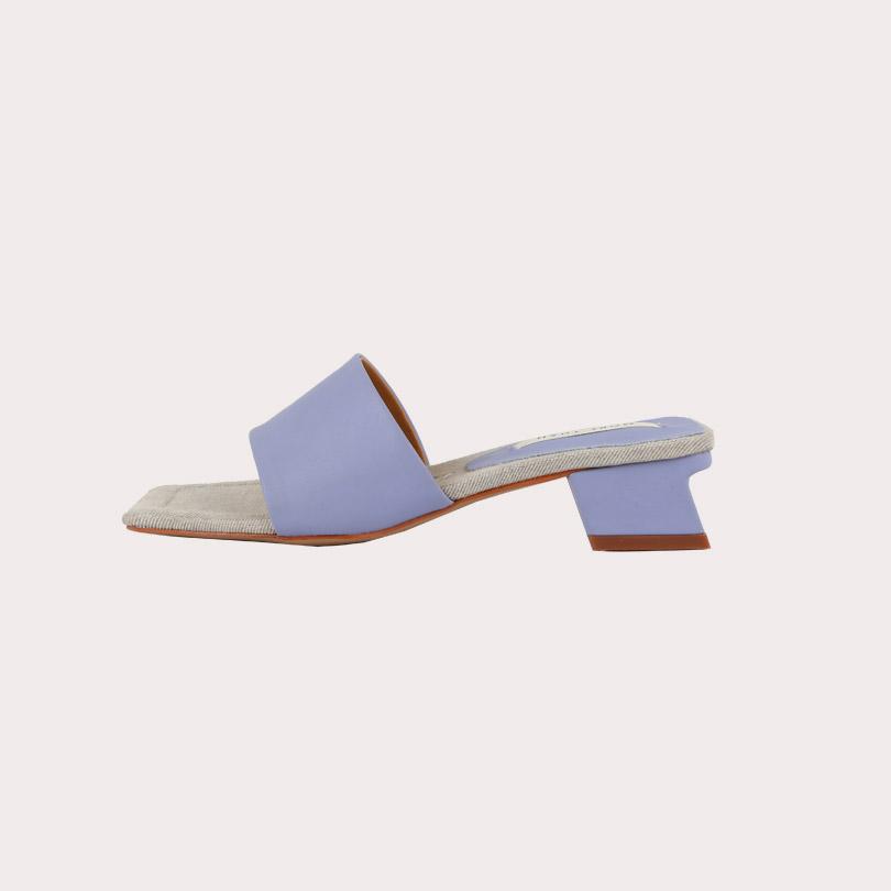 liphop-[스퀘어미들뮬]♡韓國女裝鞋