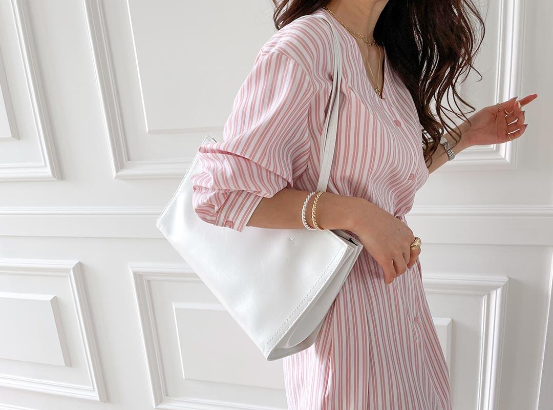 naning9-줄호세 숄더백(C04)♡韓國女裝袋