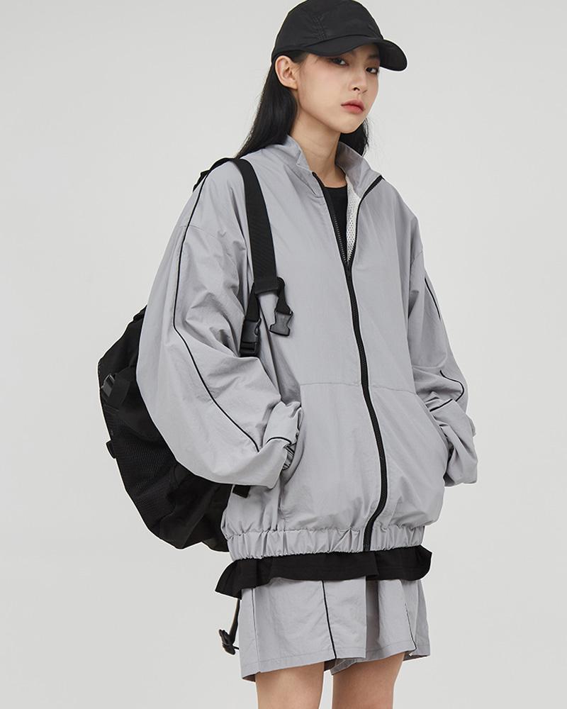 raucohouse-스포티 트랙 집업 자켓♡韓國男裝外套