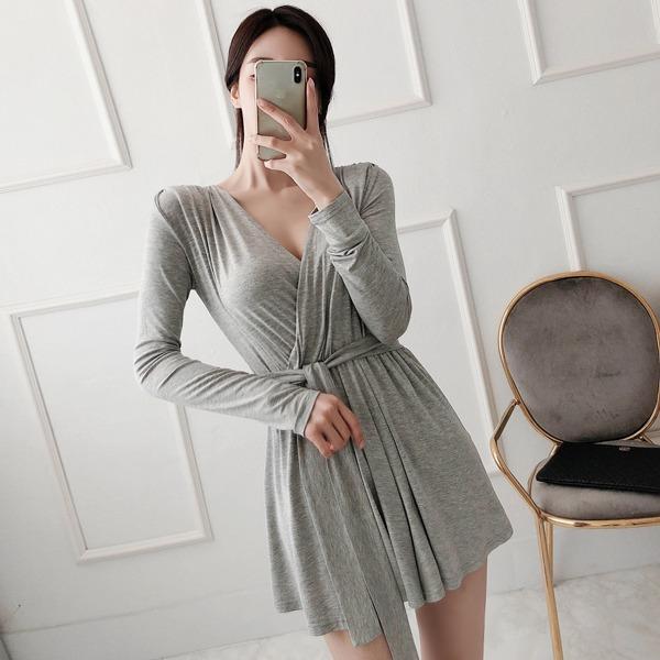 babinpumkin-오늘은이거 점프수트(허리끈 세트)♡韓國女裝連身裙