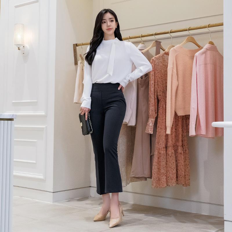 attrangs-ps1669 바디단점 완벽커버해드릴 넓은 속밴딩 디자인의 일자핏 슬랙스진 pants♡韓國女裝褲