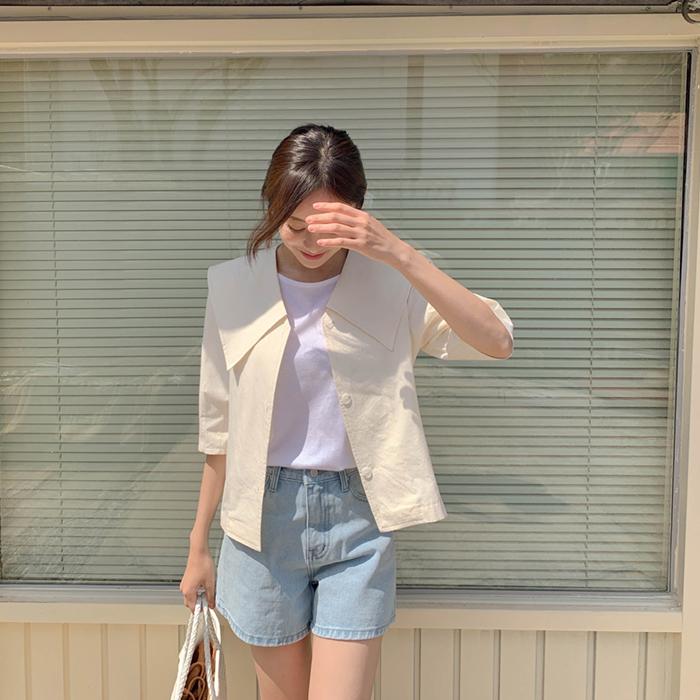 cherrykoko-[포엠 카라 자켓]♡韓國女裝外套