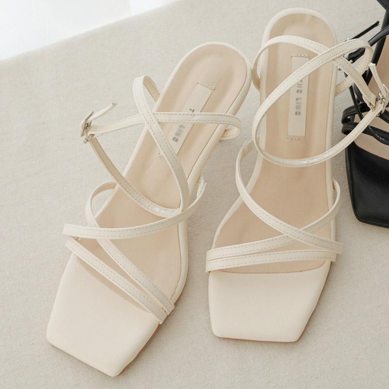 clicknfunny-므엘라 스트랩힐♡韓國女裝鞋