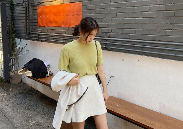 prostj-에보니 썸머 니트 (4colors)♡韓國女裝上衣