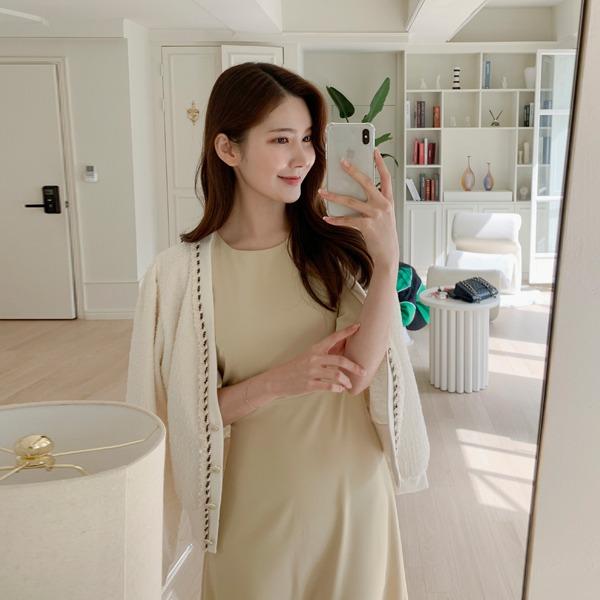 benito-엘로 트위드 가디건 신상/트위드/브이넥/V넥/베스트/여성/데일리♡韓國女裝外套